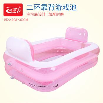 Обещание австралия ребенок газированный семья плавательный бассейн младенец младенец купание бассейн для взрослых ванна, цена 1744 руб