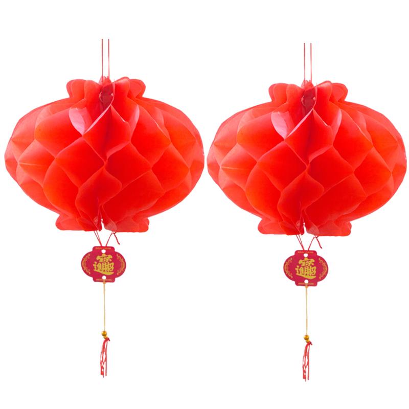 2020新年大红灯笼灯吊灯中国风户外宫灯春节大门大号挂饰阳台过年