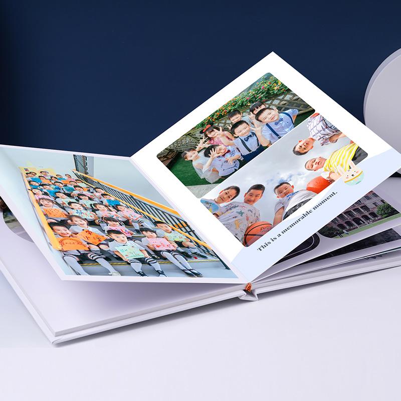 幼儿园毕业纪念册定制相册本离园成长手册小学班级制作diy照片书