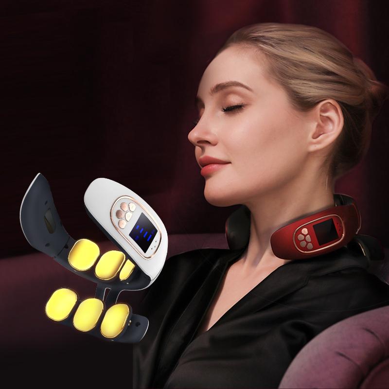 ¥12.90 【逆天价】智能电动按摩护颈仪