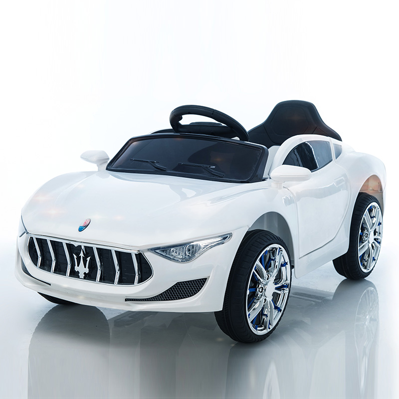 STANDARD WHITE: DUAL DRIVE DUAL POWER + SELF-DRIVING + REMOTE CONTROL   PLASTIC SEAT