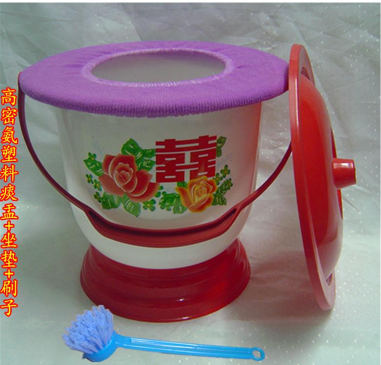Цвет: 25 {#N30 может} пластик высокой плотности аммиака чаша+кисть+крышка пластик