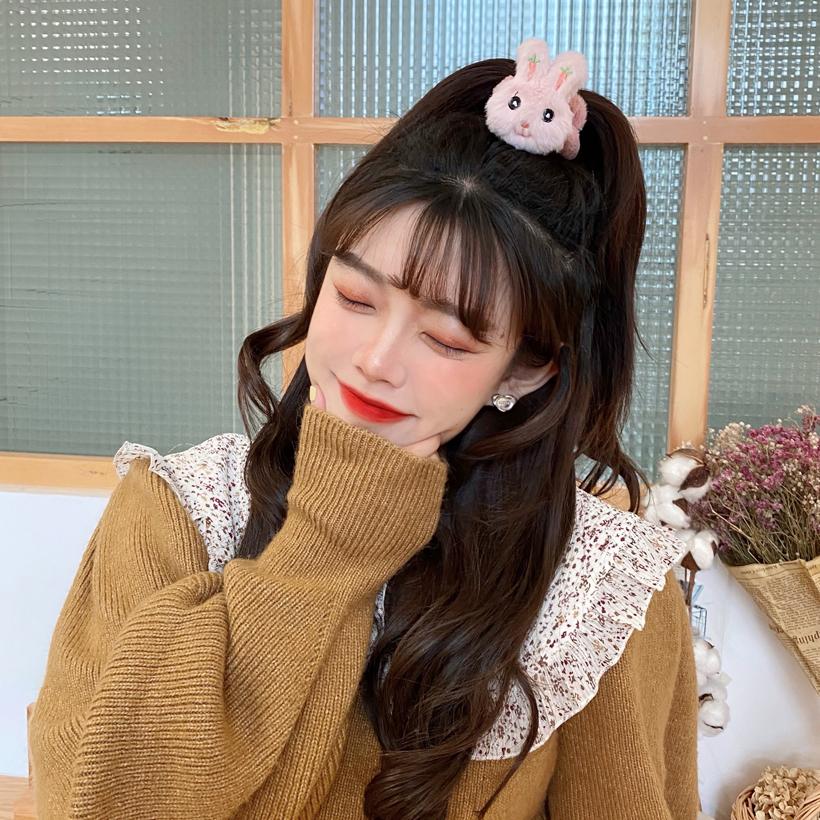 new fashion  cute rabbit three-dimensional hair rope  NHCQ269782