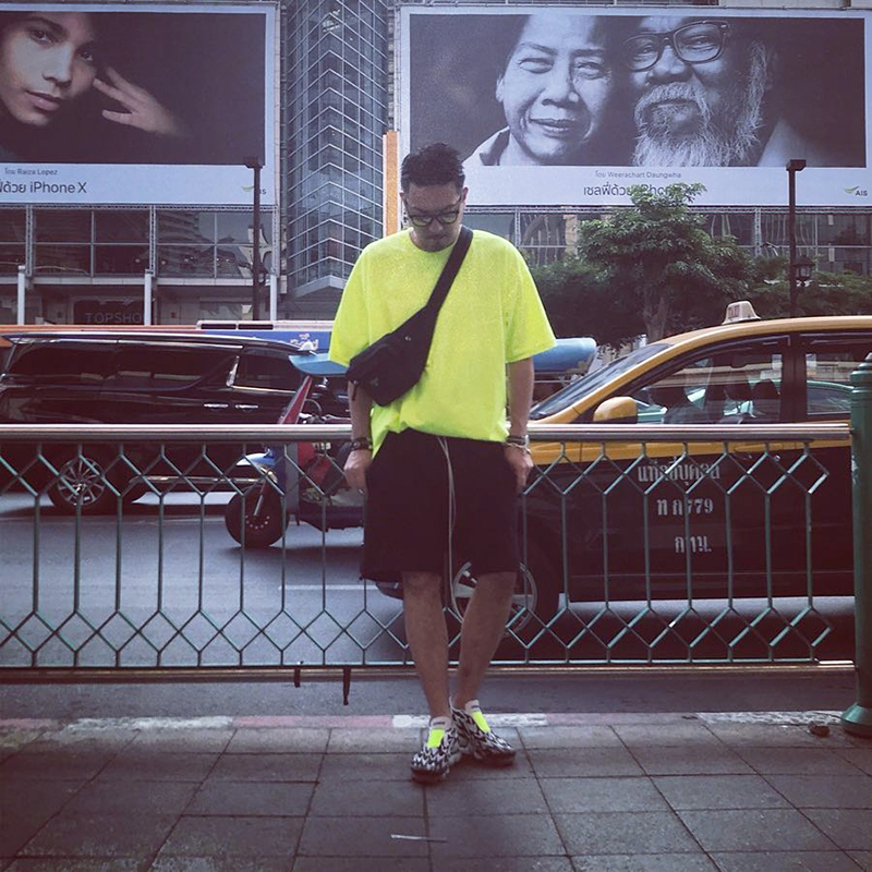 美国嘻哈大尺码宽鬆街舞重磅圆领纯色打底短袖男女恤潮详细照片