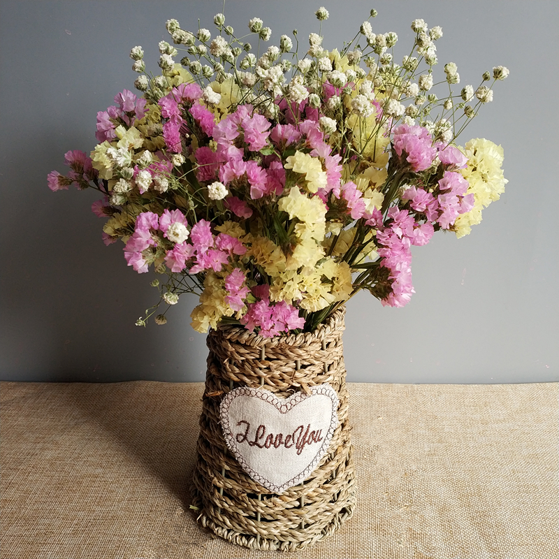 Yunnan dried flower bouquet home decoration forget me real flower ...