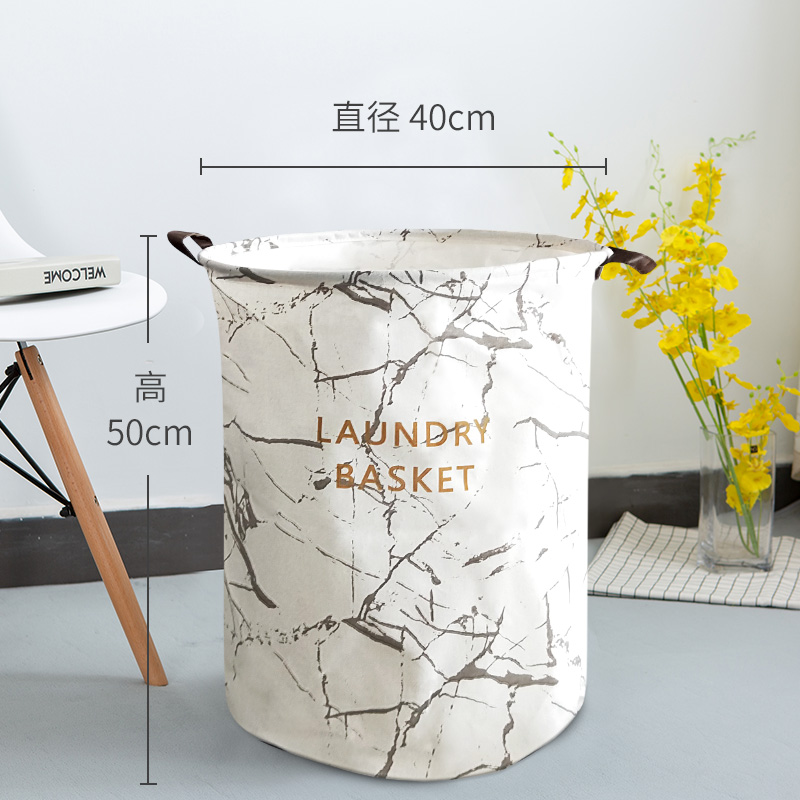 Gray Marble Opening On White Background 40*50