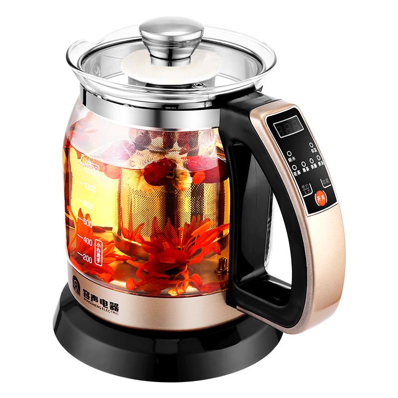 容声电热水烧水壶全自动家用玻璃保温一体煮泡茶器恒温小专用透明