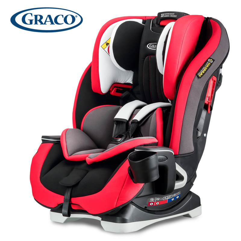 Graco Gray Child Safety Seat Car Baby 0 12 Years Old Cornerstone