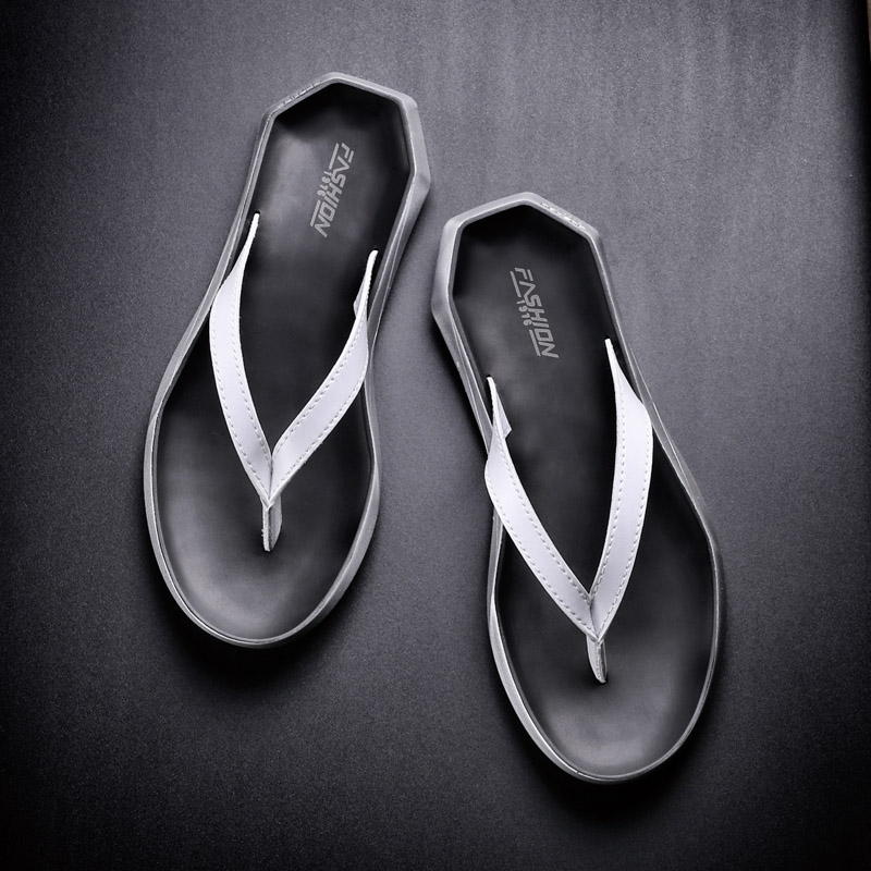 02320bf701bc68 Slippers men s summer fashion wear personalized beach casual flip-flops  outdoor tide sandals men s sandals