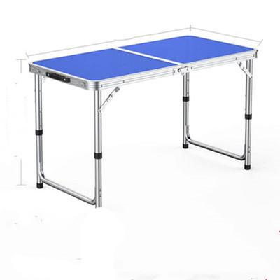 折叠桌户外折叠桌子摆摊地推可折叠桌子家用餐桌便携式铝合金桌