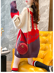 2020 Autumn dress Korean version loose lazy wind round collared women's net red lace stitching age-reducing top port wind coat 44 Online shopping Bangladesh