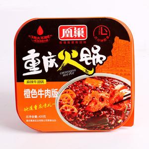 重庆凰巢麻辣网红自热自煮助火锅速食懒人牛肉小火锅方便火锅420g