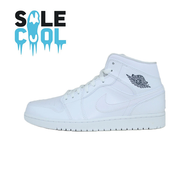 2c0f3a105de6 ... Air Jordan 1 MID AJ1 Joe 1 men s casual retro basketball shoes  554724-112-