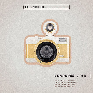 SNAP Research LOMO Fisheye camera with flash 135 film gift