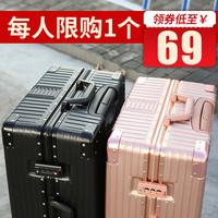 Универсальная дорожная сетка для колес на колесиках красный Инс чемоданчик маленькой женщины мужской Студенческий 20-дюймовый пароль кожаный чемодан 24
