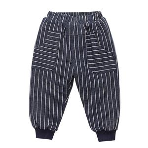 宝宝棉裤男童加绒裤子三层夹棉加厚