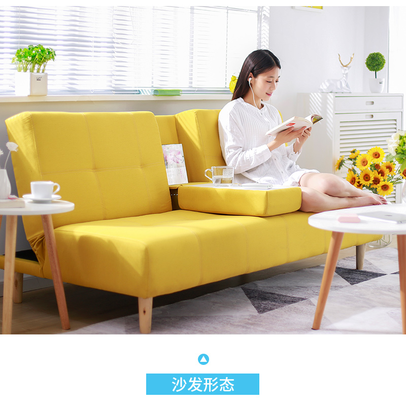 Sofa Bed Multi Function Foldable Living Room Small Apartment Simple Modern  Single Double Simple Dual Use Lazy Sofa