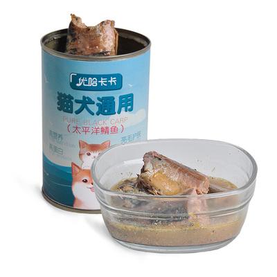 猫狗通用罐头猫咪主食深海鱼肉零食5罐