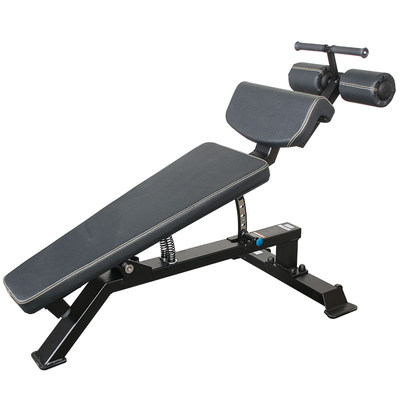 Abdominal exercise commercial adjustable undercurred muscle plate sit-ups and dumbbell stools