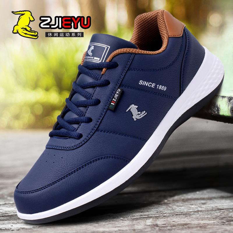 4c125275783 ανδρών Crocodile καλοκαιρινά παπούτσια, ανδρικά παπούτσια για τρέξιμο  αναπνέει δερμάτινα παπούτσια παλίρροια του τουρισμού αθλητικά παπούτσια  πλέγματος ...