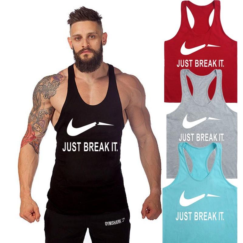 男士健身运动工字背心 Male Gym Sport Vest Men Tank Singlets