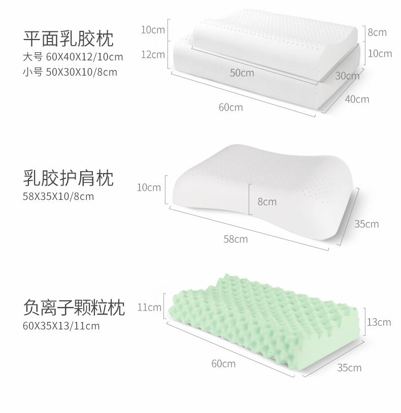 福满园 乳胶枕 93%泰国天然乳胶含量 图36