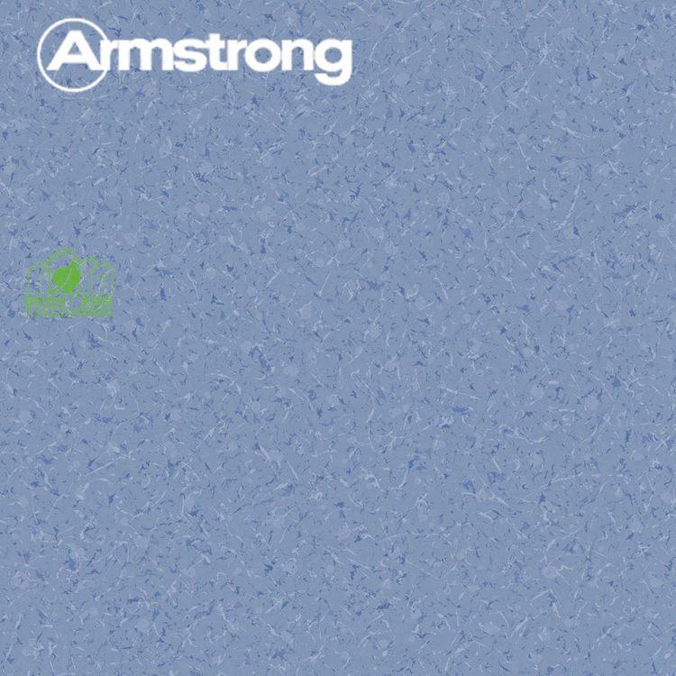 晶丽龙K6152-07勿忘我PVC卷材塑胶地板2mm上海Armstrong阿姆斯壮