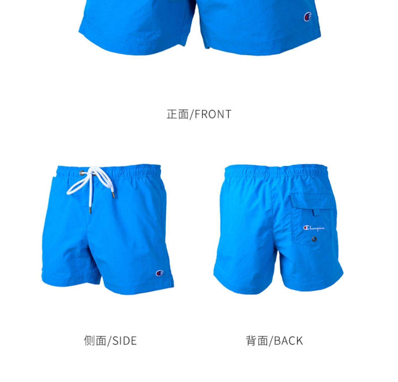 CHAMPION Champion CH213090 Quần short thể thao nam Quần short đi biển 19 Mùa hè mới XY - Quần short