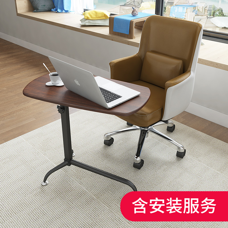 Цвет: Столы(цвет: дуб)+кресло (коричневая кожа)
