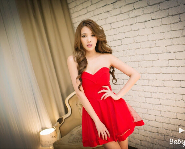 Sexy dress Tube Top Nightwear Women low cut skirt summer Korean skirt topless chest wrapped princess Tutu