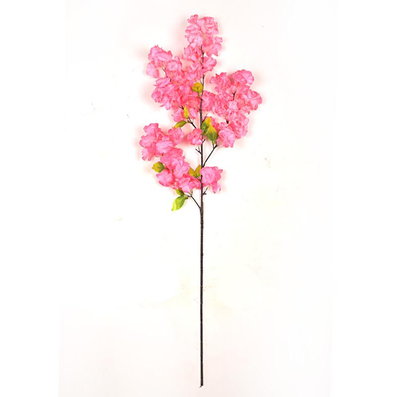 仿真樱花枝婚庆婚礼樱花树桃花枝塑料花装饰花绢花客厅落地假花树