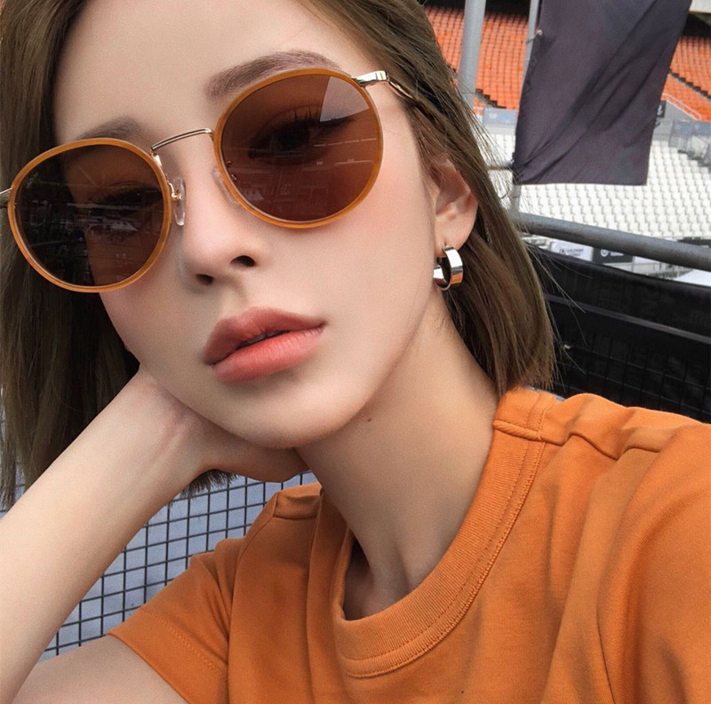 78af835515 BBOND Korea purchasing FAKEME sunglasses new 23 Oval personality simple and elegant  Popular Sunglasses