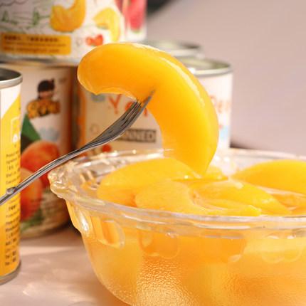 天同时代 果小懒 糖水黄桃罐头312g*6罐 零添加 ¥24