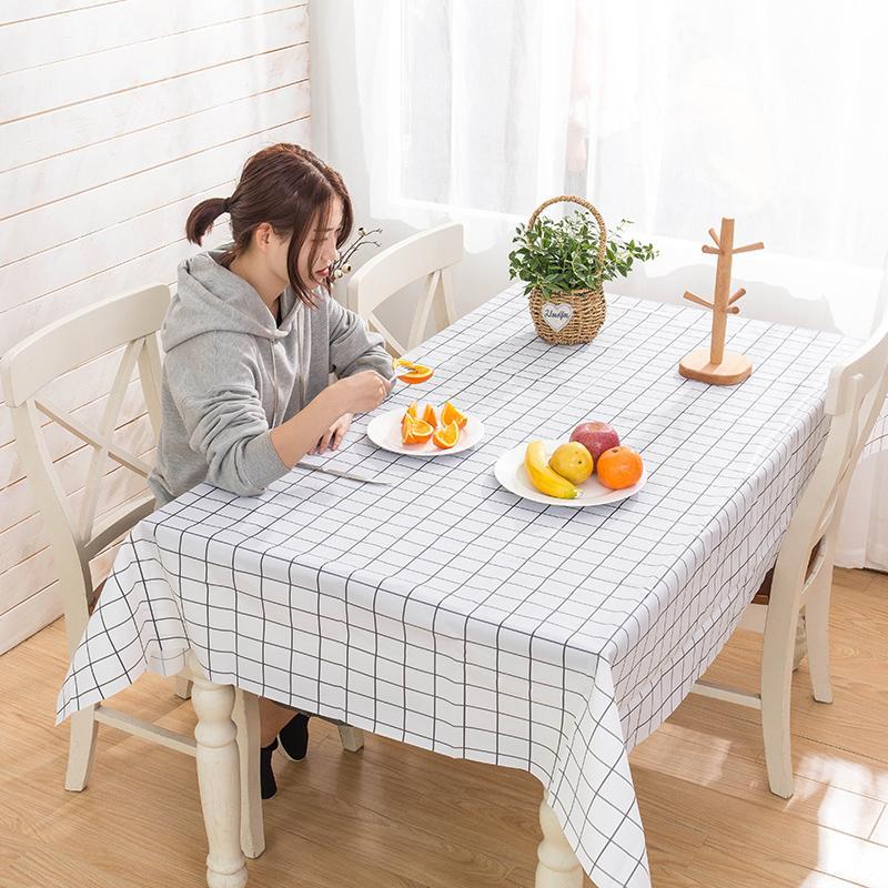 【拍三件】网红PVC防水防油桌布