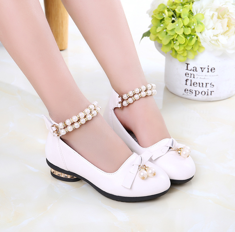 b18dd206a70a2 3-10-year-old girl Princess Shoes 4 summer 5 single shoes 6 Girls 7 Dance  Shoes 8 leather sandals 9 children high heels