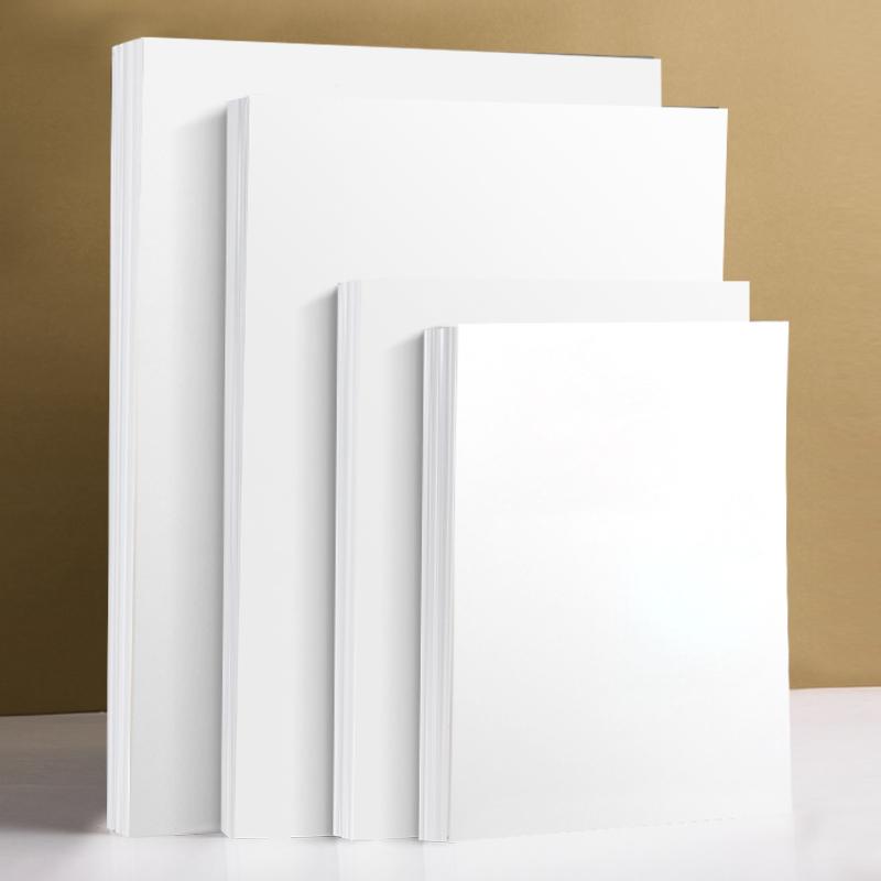 白卡纸硬卡纸300克手工贺卡纸a3纸儿童美术画画纸8k绘画纸手抄报卡纸荷兰白卡纸a4 a3卡纸白纸大张4k白色卡纸