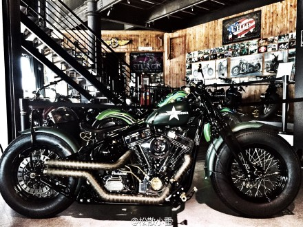Harley exhaust 883 1200 modified exhaust pipe Taiwan craft custom retro  modified exhaust VH
