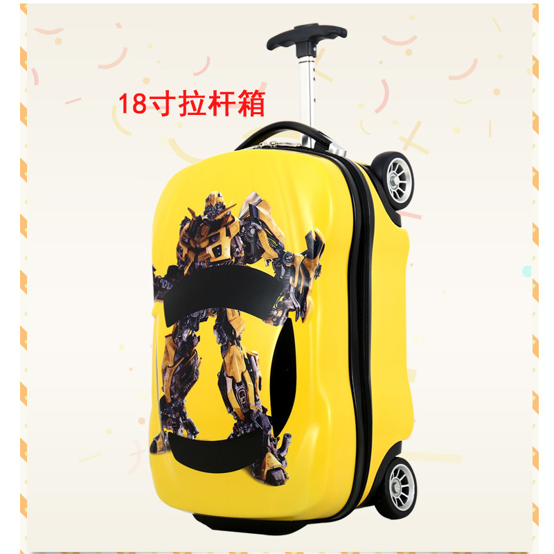 18 Inch Yellow Trolley Case