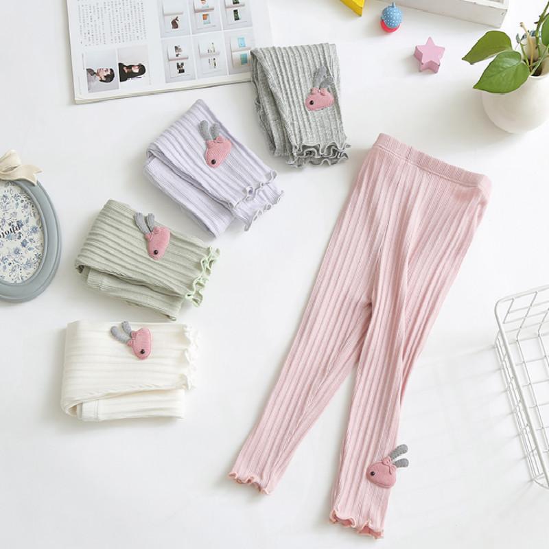 【2件装】】夏季纯棉女童打底裤