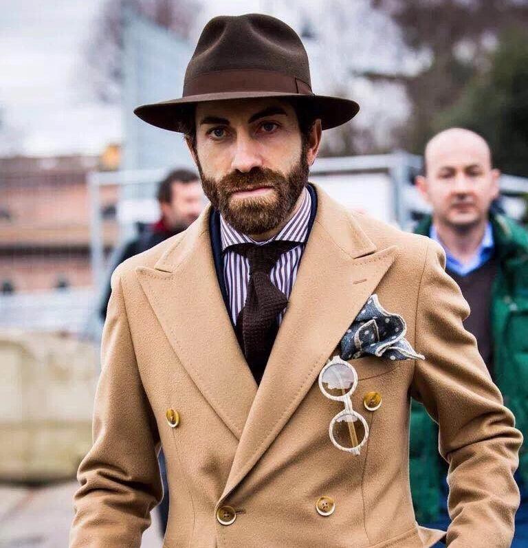向街头暖男看齐,冬季外套这么穿!