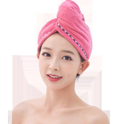 明信干发帽女吸水干发巾擦头发速干毛巾包头巾可爱洗头浴帽长发