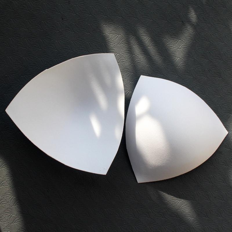 Треугольник движение бюстгальтер подушка 3D прямо стоять дышащий хлопок отверстие нижнее белье вставить йога фитнес одежда бюстгальтер подбитый тонкая модель