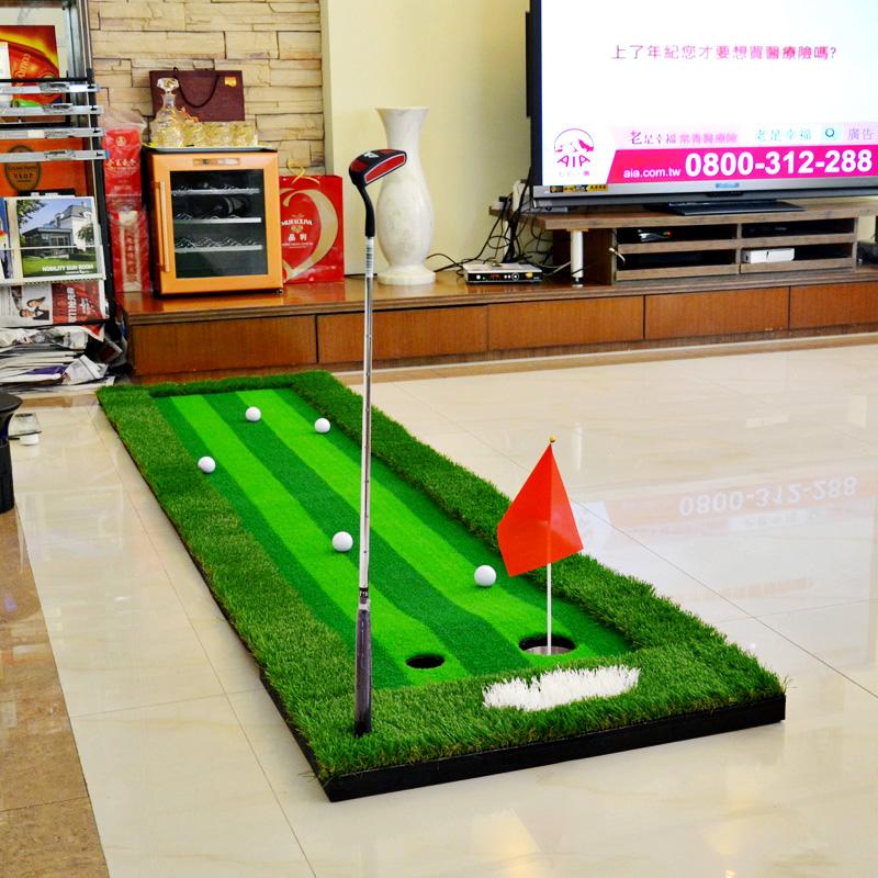 POLO комнатный гольф имитатор golf мяч зелень короткая клюшка тренажёр статьи мяч дорога практика одеяло установите