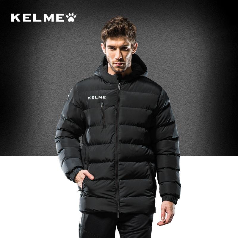 Kelme 卡尔 美 thể thao quần áo cotton nam giới và phụ nữ trẻ em đào tạo bóng đá quần áo chính thức cotton đích thực bông ấm áo khoác mùa đông
