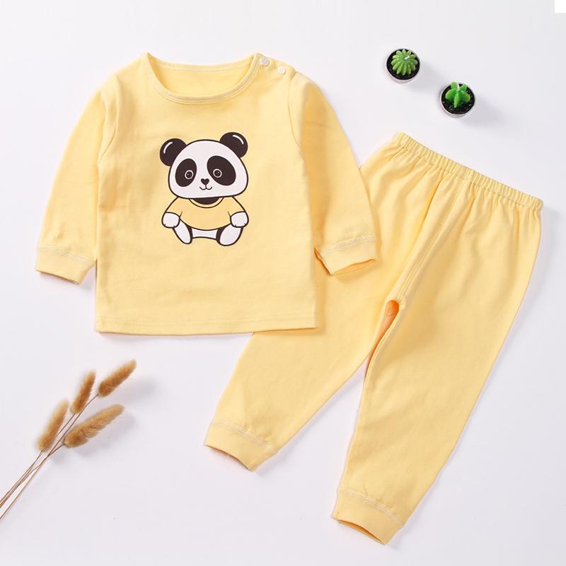 儿童宝宝纯棉内衣套装长袖空调服夏季优惠后20元包邮