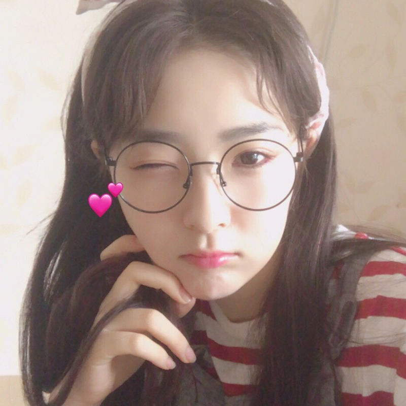 b776db4f886d Retro myopia glasses frame female Korean version of the tide net red with  the same paragraph Yan degree round face Harajuku wind ulzzang male