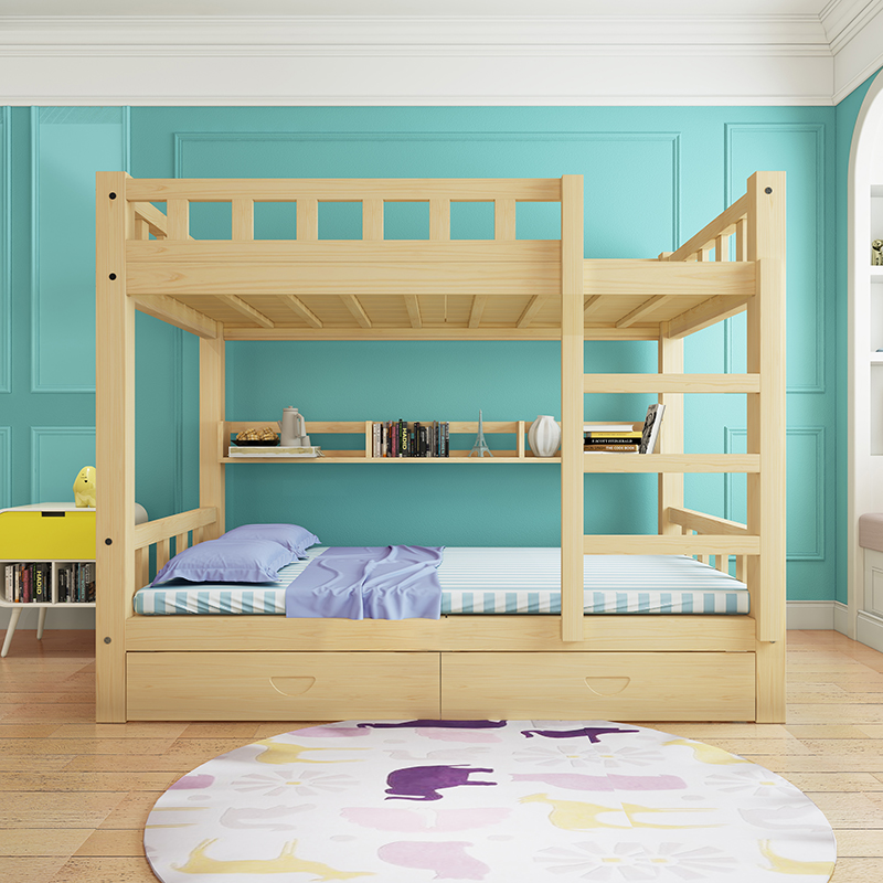 All Solid Wood Children Up And Down Beds For Adults Up And Down Beds High And Low Beds Mother Beds Mother Beds Double Beds Pine Beds Buyinchinese Com Buy China Shop