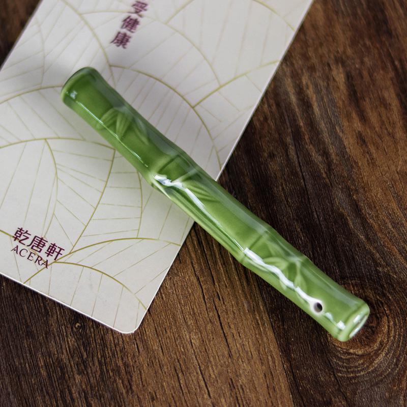 乾唐轩活瓷竹节/竹笋/鳌鱼活水棒陶瓷茶具配件厨房家居日用可净水