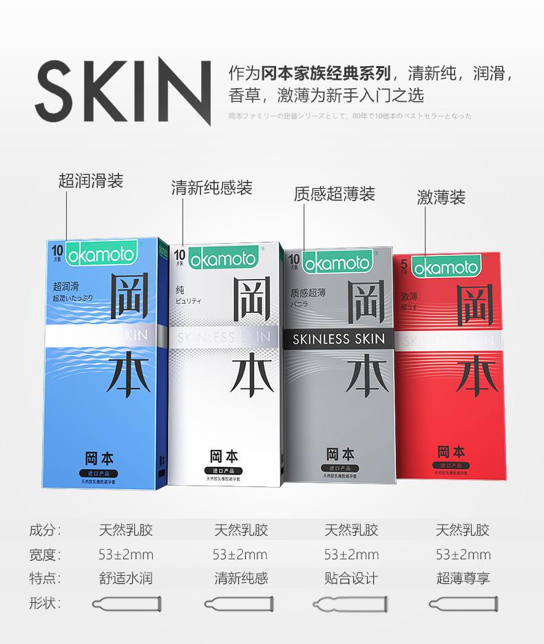 冈本 skin系列+touch系列 23只 图3