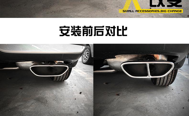 Ốp ống xả sau xe Honda CRV 2021 - ảnh 7